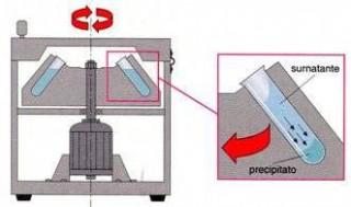 Centrifuga schema