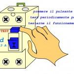 5 - Interruttore differenziale : considerazioni sul coordinamento e la messa in servizio.