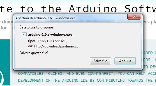 40 apertura arduino download