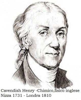 Henry Cavendish Portrait