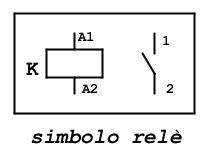 1 simbolo relè