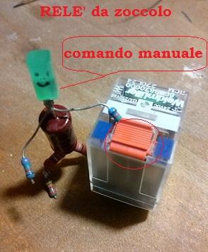 5 comando manuale relè