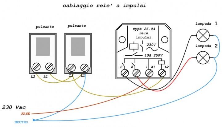 Schema Elettrico Per Collegare Un Relè : Relè applicazioni laboratorio scolastico