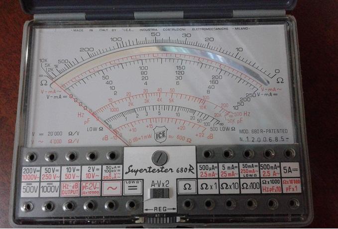 7a galvanometro