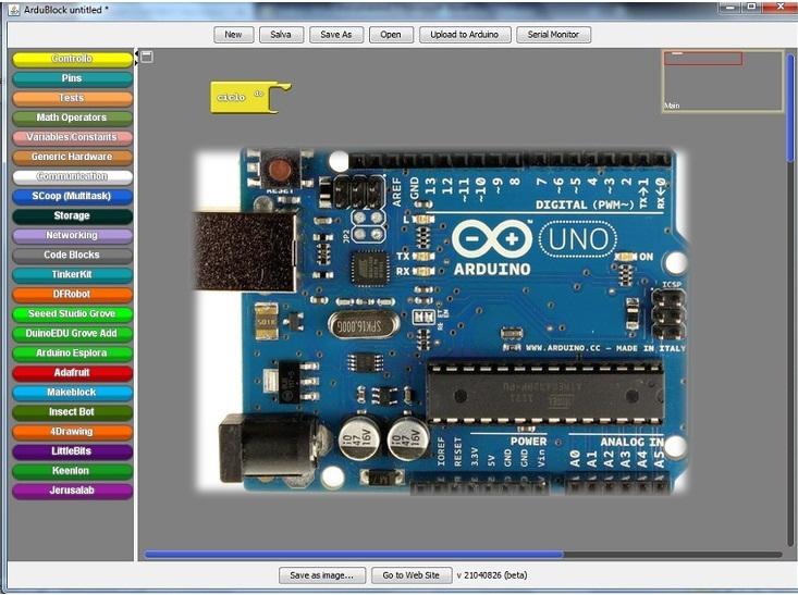 Arduino e un approccio con la programmazione grafica